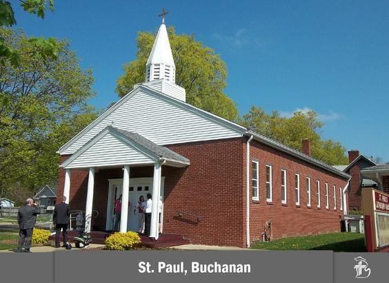 St. Paul Lutheran Church in Buchanan, Michigan #LCMS