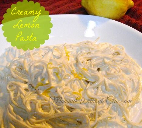 Creamy Lemon Pasta for Summer
