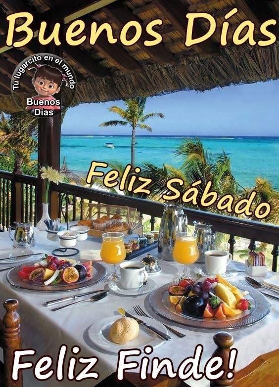 Imagenes Y Frases De Feliz Sabado Con Imagenes Saludos De