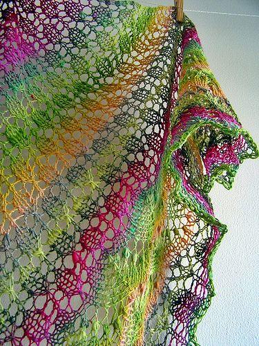 J'aime beaucoup les couleurs et le point / Love the colors and the stitch