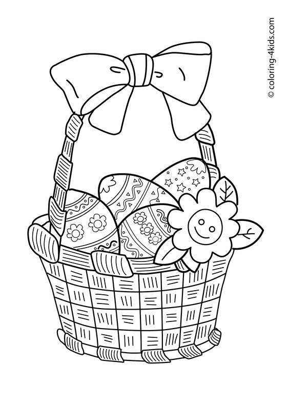 Easter coloring pages, Easter eggs coloring pages for kids, easter prinables: