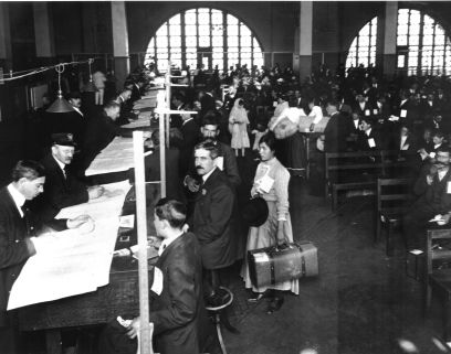 Ellis Island Immigrants, my family was here way before