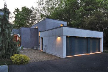 Modern Icf Home | Modern Home ICF Design Ideas, Pictures, Remodel And Decor  | Modern Homes | Pinterest | Modern, Modern Garage And House