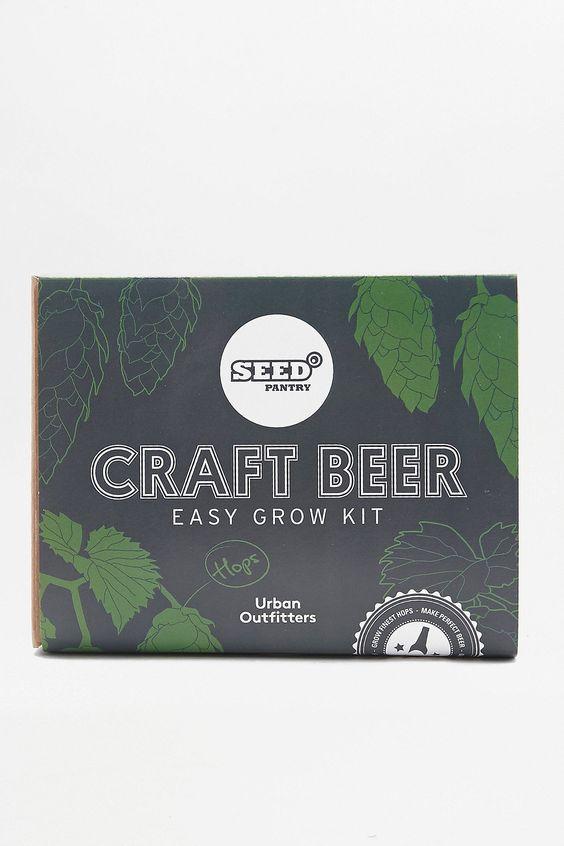Slide View: 1: Seed Pantry - Kit de culture pour bière artisanale ultra facile