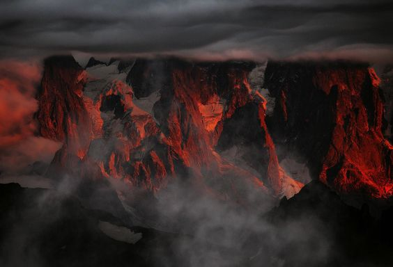 Stronghold In Flames by Alexandre Deschaumes on 500px