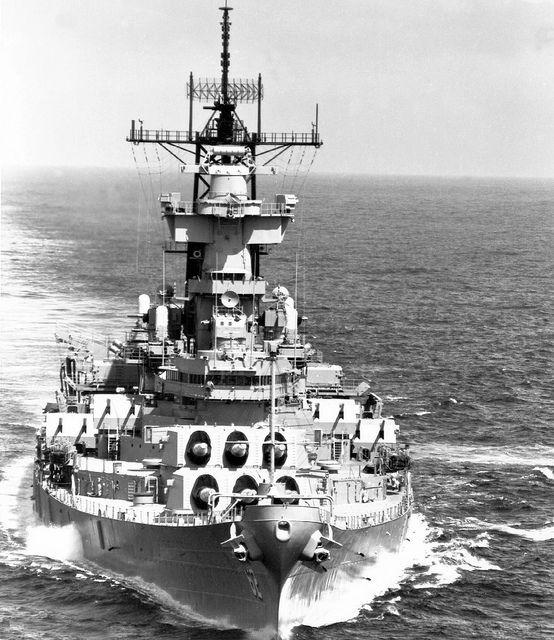 USS New Jersey: