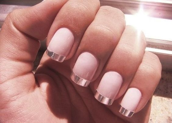Chrome French Tips