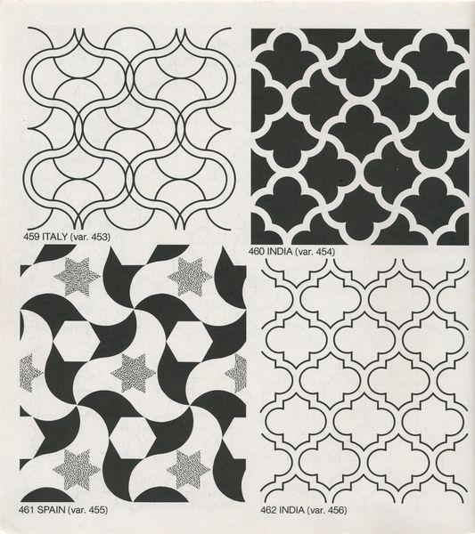 Gpb 060 Geometric Patterns Borders David Wade Pattern In