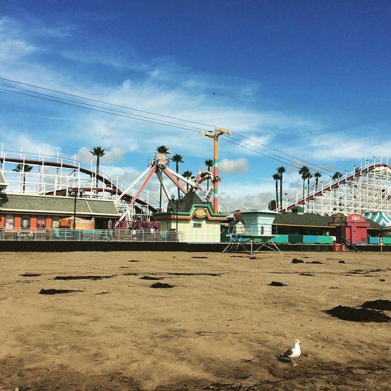 Santa Cruz CA: I felt like I was in a Best Coast music video #wccalifornia by annika_tate