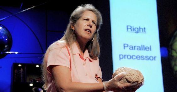 ジル・ボルト・テイラーのパワフルな洞察の発作 http://www.ted.com/talks/jill_bolte_taylor_s_powerful_stroke_of_insight?language=ja