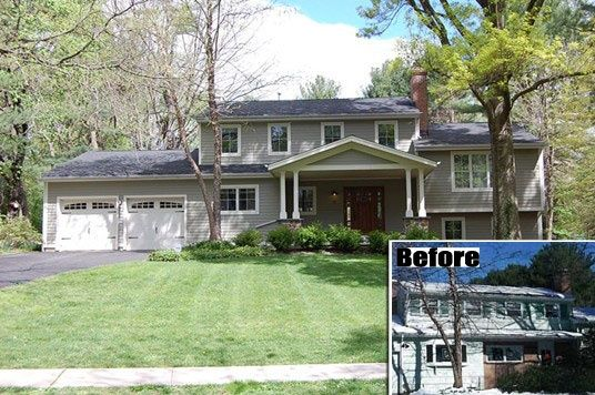 Split Entry Remodel Before And After Bing Images Before Afters Pinterest Home Split