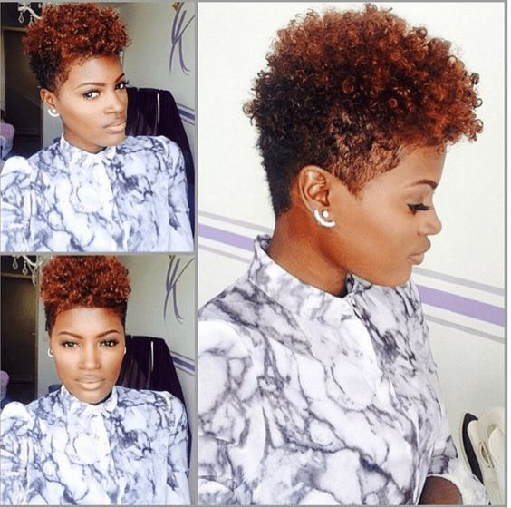 Fiery Hot Tapered Cut IG:@thefashionpreacher  #naturalhairmag