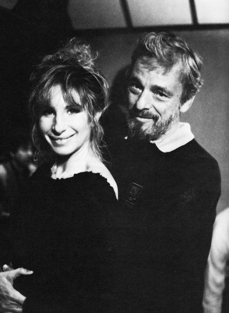 Barbra Streisand and Stephen Sondheim