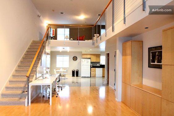 Amazing 2b/2b bi-level loft in SOMA in San Francisco    $1714/week Total: $1930