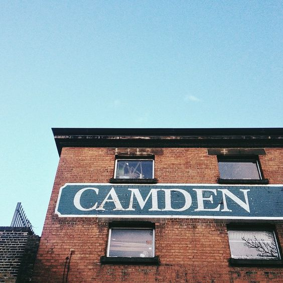 I'll be milling around Camden most of today, street art…