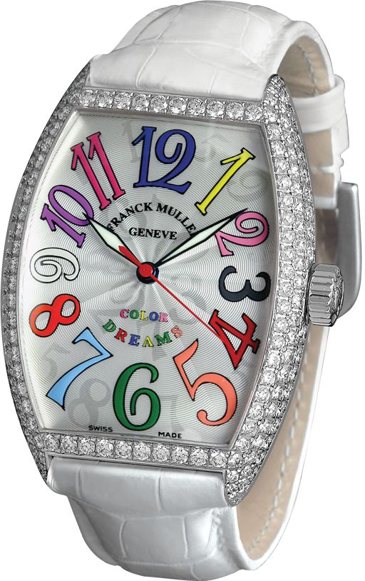 Womens Frank Muller Color Dreams replica watch