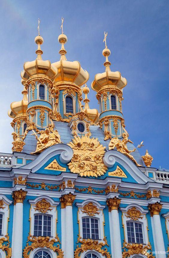 Catherine S Palace St Petersburg Russia Petersburg St