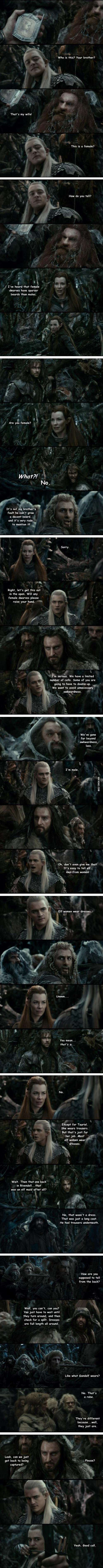 Elves and Dwarves: