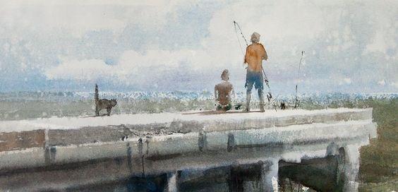 Sergey Temerev.  Watercolor Artist