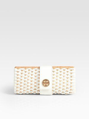 Perfect summer clutch from Tory Burch.