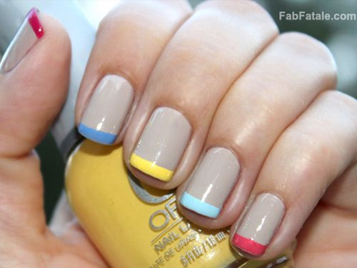 6 French Manicures That Are Far From Boring