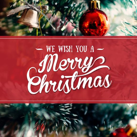 "MERRY CHRISTMAS! May the peace and joy of the season be with you and your family. (""God bless us, every one!"")"