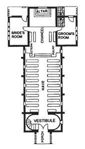 Wedding Chapels Floor Plans And Google On Pinterest