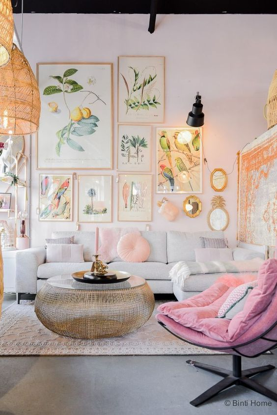 44 Bright Home Decor To Rock Your Next Home interiors homedecor interiordesign homedecortips