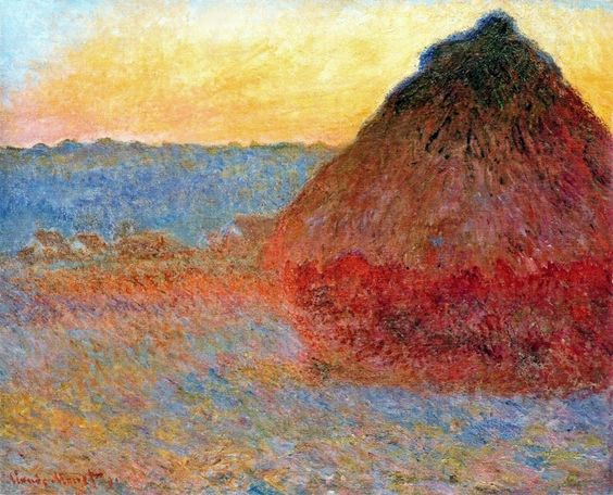 Haystack, Claude Monet