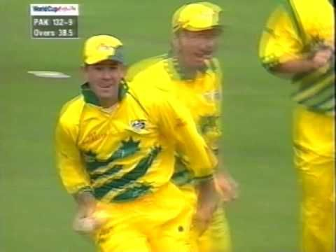 Australia V Pakistan Cricket World Cup Final 1999 Cricket World Cup World Cup Final World Cup