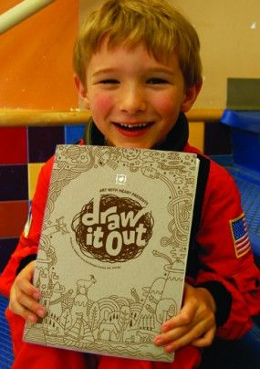 Draw It Out supports children who are grieving a loss