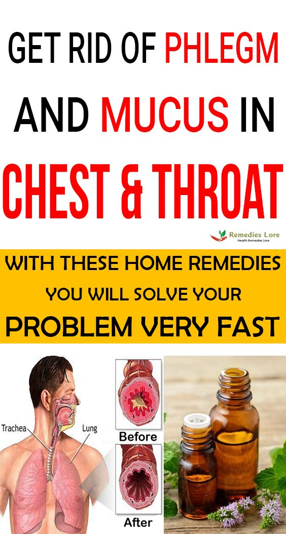 How To Get Rid Of Phlegm Buildup In Throat