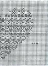 Risultati immagini per renato parolin cuori punto croce
