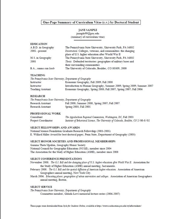 sample cv format for meteorology graduate -    resumesdesign - ophthalmic assistant resume