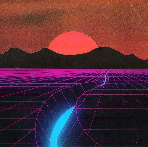 80's dream landscape