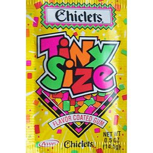 Chiclets! I loved these!!!