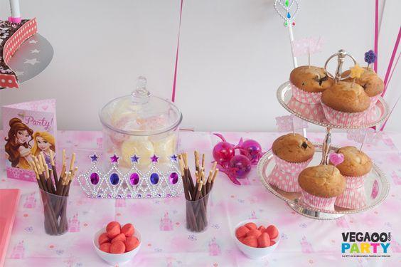 anniversaire princesses disney d coration festive. Black Bedroom Furniture Sets. Home Design Ideas