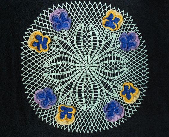 🌺 Flor de Crochê Receita Amor - Perfeito Toalhinha Pétalas -   /  🌺 Crochet Flower Recipe Love - Perfect Washcloth Petals -
