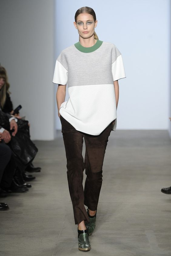 Derek Lam RTW Fall 2014 [Photo by Giovanni Giannoni]