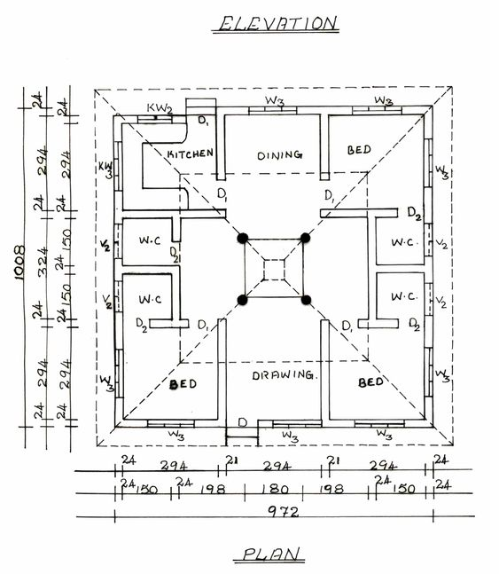 18x50 House Design Google Search: South Indian Traditional House Plans