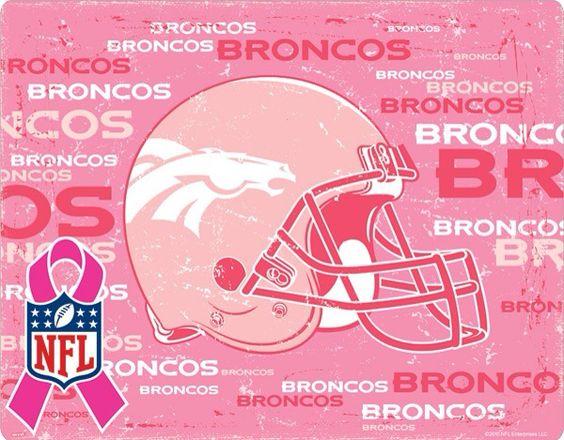 Denver Broncos go Pink for Breast Cancer