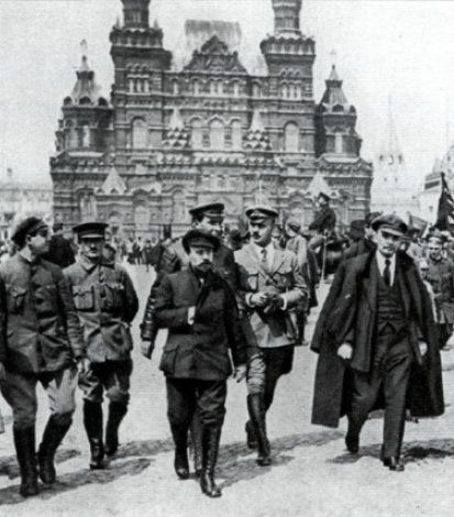 Vladmir Ilyich Ulyanov, Lenin in Red Square, May 1919: