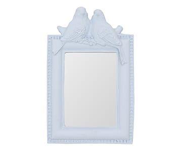 Espelho Passarinho Lavanda - 9,5x14,5cm