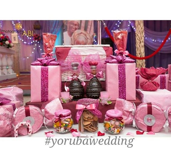... bride grooms traditional engagement brides families to the gifts the o