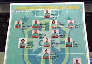 Blog Esportivo do Suíço:  Dunga surpreende: Neymar no banco, Elias fora e Casemiro titular