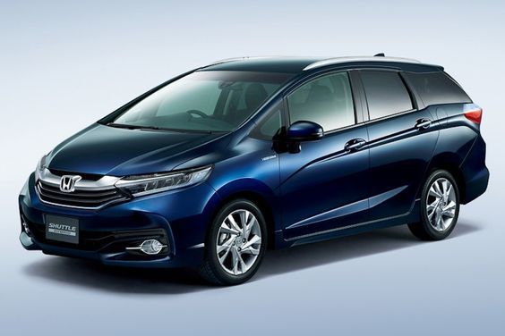 New #Honda #Shuttle (City/Jazz station wagon) launched in Japan at INR 8.97 lakhs