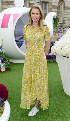 L k bennett yellow dress for girls