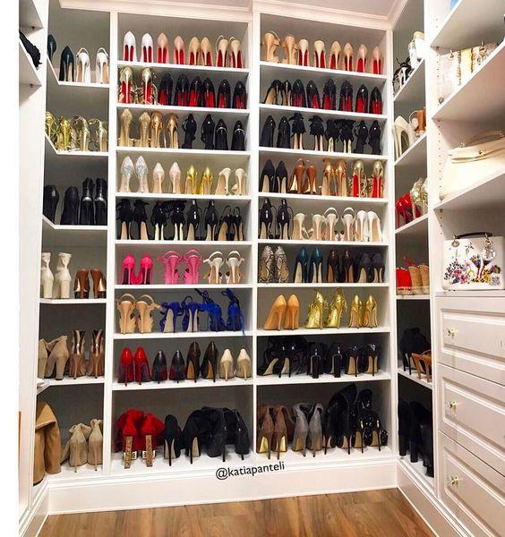 Como Organizar Zapatos En 2020 Organizador De Zapatos Como Organizar Zapatos Cuartos De Mujer