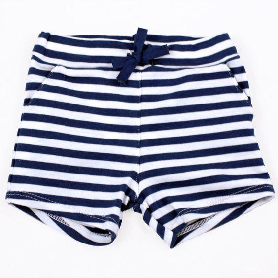 Bridgo Striped Shorts