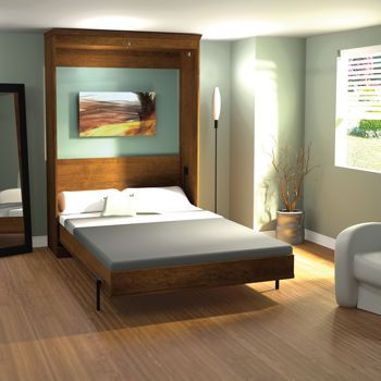Best Bestar Full Wall Bed In Tuscany Murphy Beds Pinterest 640 x 480